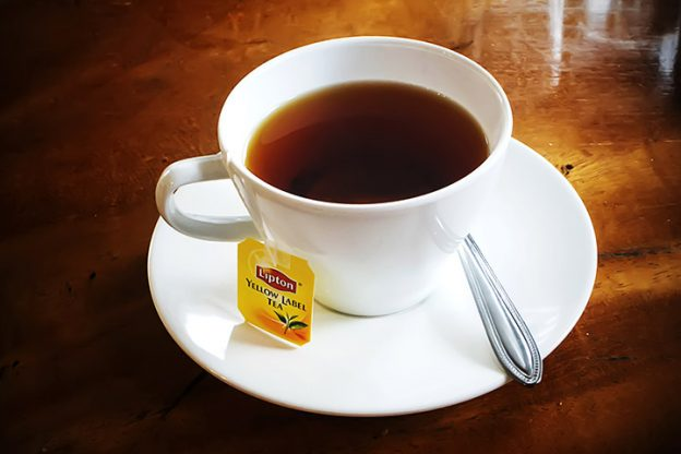 Image result for a cup of lipton black tea