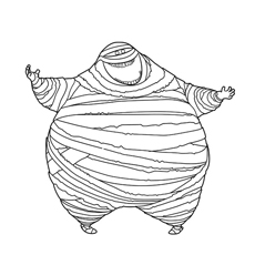 Coloring Sheet of Murray