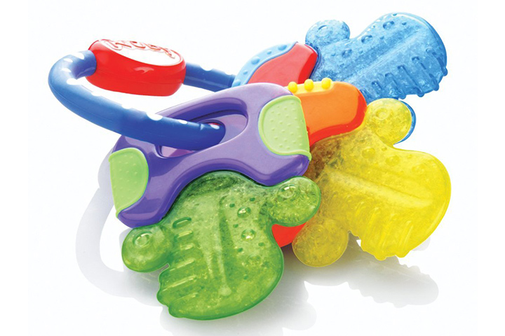Nuby Icybite HardSoft Teething Keys