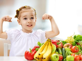 A Healthy Nutrition Chart For Kids