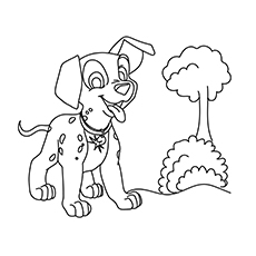 10 Best 101 Dalmatians Coloring Pages