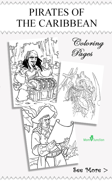 pirates of caribbean coloring pages - photo#29