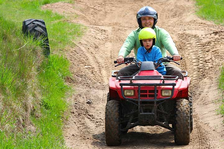 Riding An ATV For Your Kid