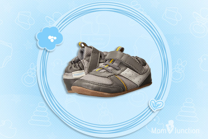 Robeez Maverick Mini Shoez, Grey - Improved Sole