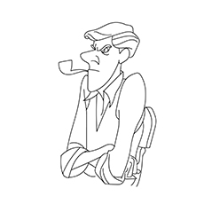 Roger Coloring Pages