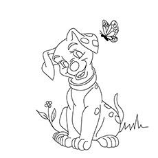 10 Best 101 Dalmatians Coloring Pages For Your Little One