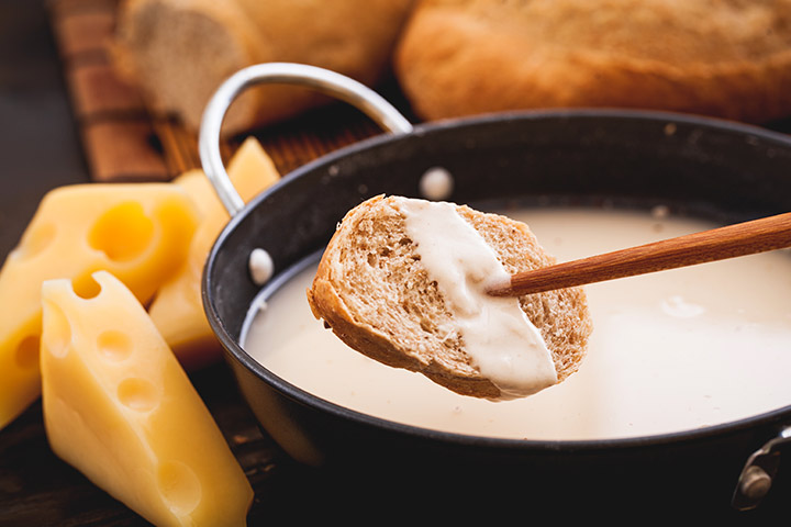 Simple Cheese Fondue