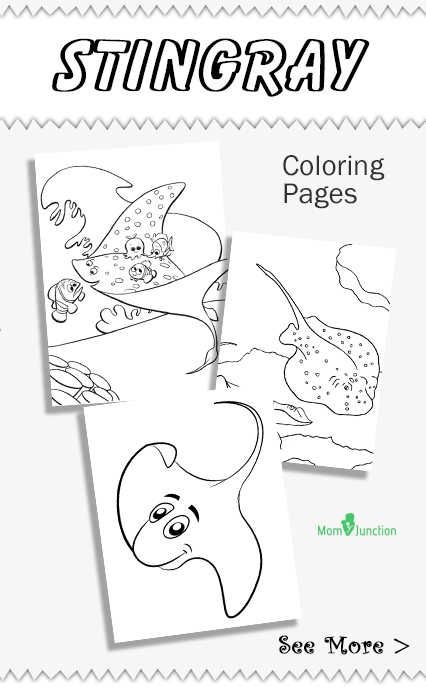 stingray coloring pages printable coloring pages for kids and - Stingray Coloring Pages Printable