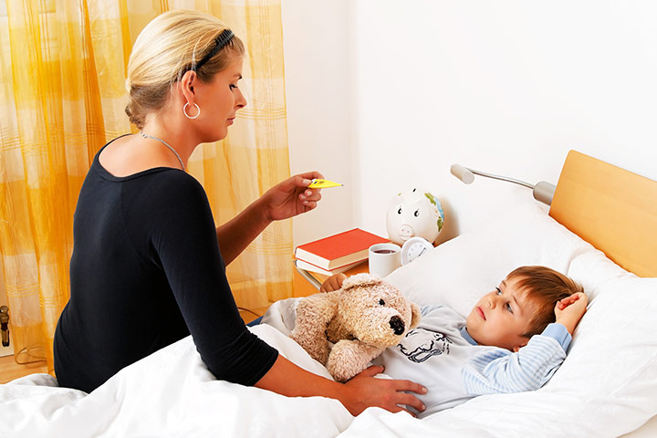 Symptoms Of Typhoid In Toddlers