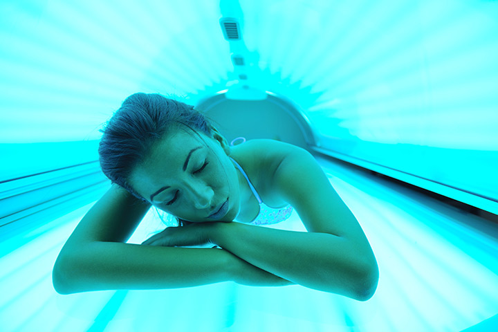 Tanning Beds While Breastfeeding