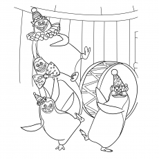 10 Best Free Printable Penguins Of Madagascar Coloring Pages