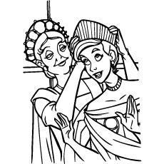 Top 10 Free Printable Anastasia Coloring Pages Online