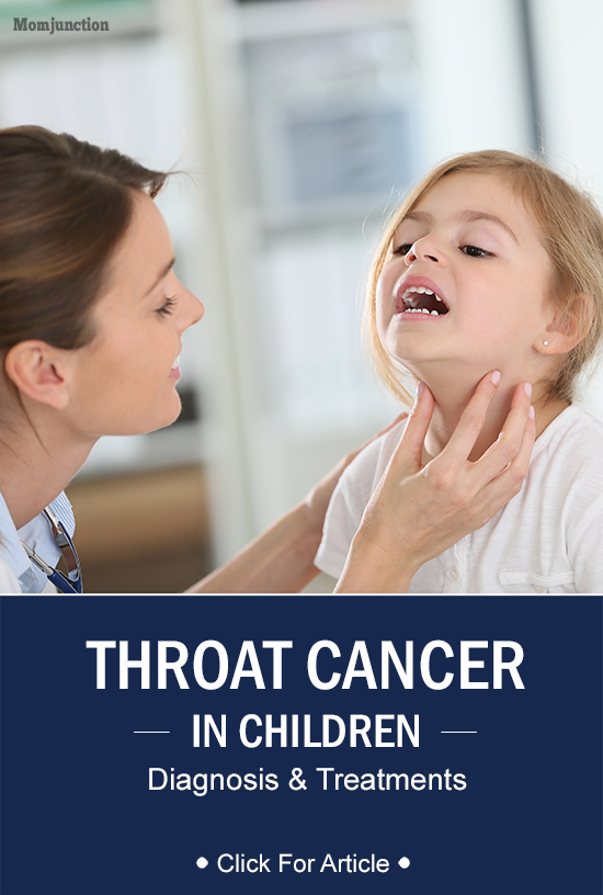 Throat Cancer In Children - Diagnosis And Treatment