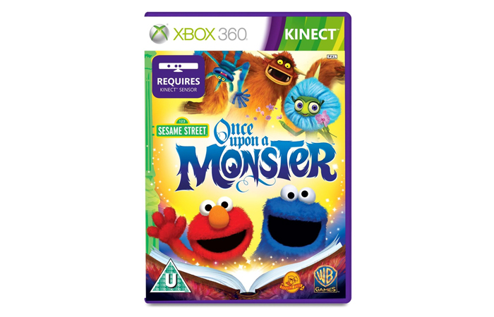 Educational Games for Xbox 360 - Sesame Street: Once Upon A Monster