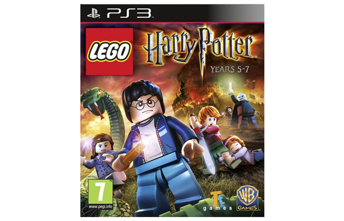 Movie-themed Xbox Games - Lego Harry Potter