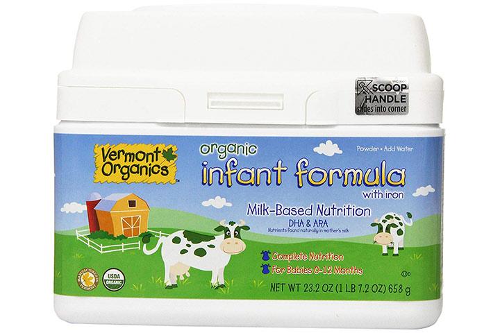 Vermont Organics TM Milk Based Organic Formula