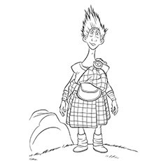 brave coloring pages wee dingwall - Brave Coloring Pages