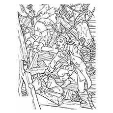 Will Turner Coloring Page to Print