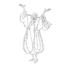 Cruella Coloring Pages