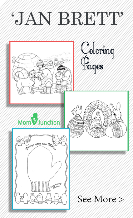 jan brett holiday coloring pages - photo#34