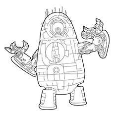 WALL-E Coloring Pages - Best Coloring Pages For Kids | 230x230
