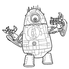 Coloring Pages Of Robots Murderthestout Coloring Pages Robot