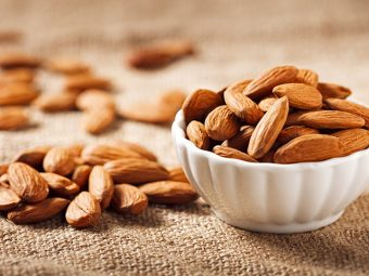 6 Health Benefits Of Eating Almonds While Breastfeeding