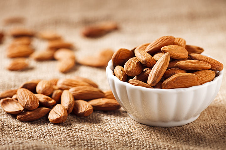 Almonds While Breastfeeding