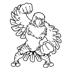Eagle Coloring Pages Fair 20 Cute Eagle Coloring Pages For Your Little Ones Design Decoration