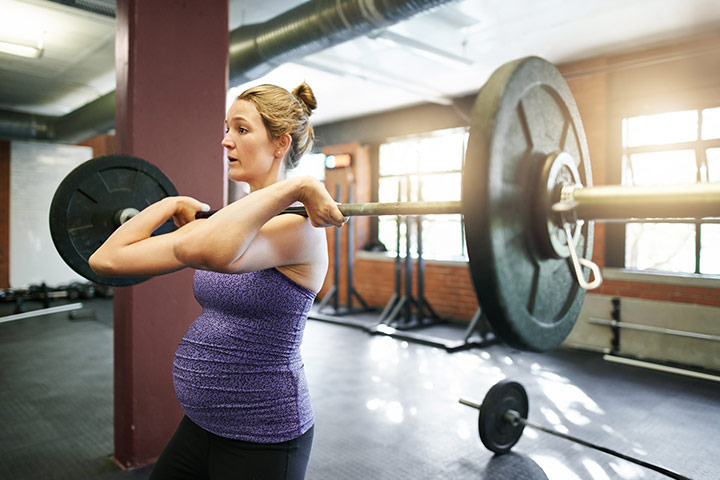 Barbell Squats During Pregnancy