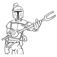 10 amazing boba fett coloring pages for your little ones - Boba Fett Coloring Pages Printable