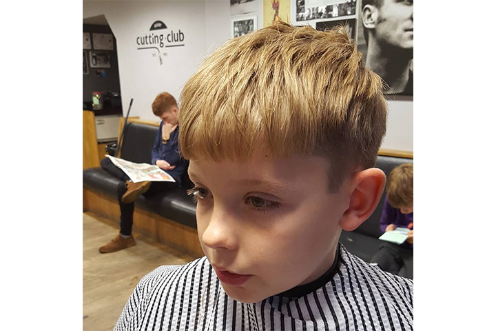 Caesar Cut - good haircuts for boys Pictures