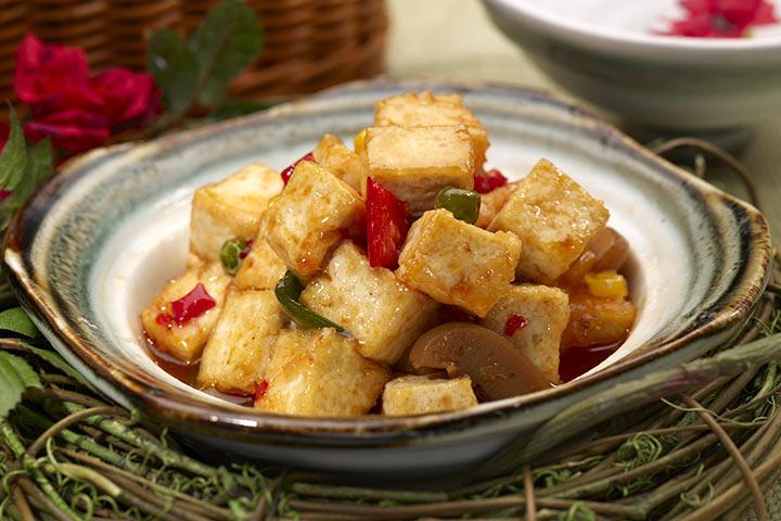 Chili Paneer (Cottage Cheese)
