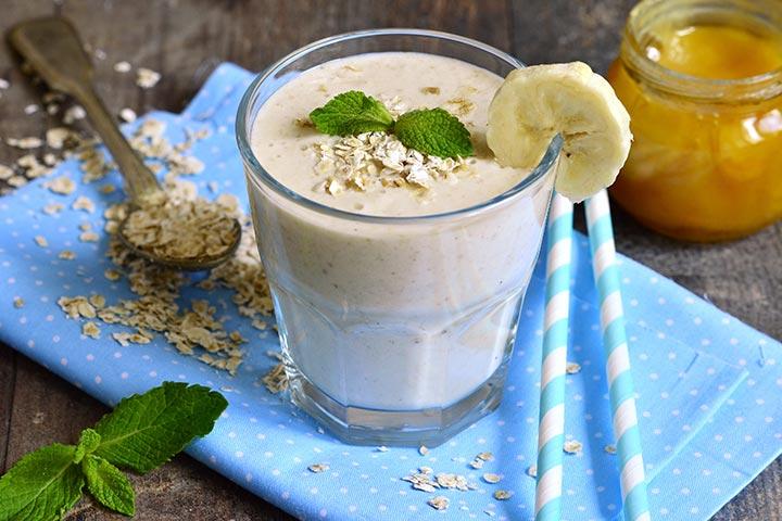 Corn Cereal Milkshake