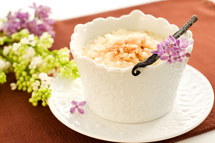 Creamy Vanilla Rice Pudding
