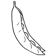 Peas Coloring Page - Early Perfection