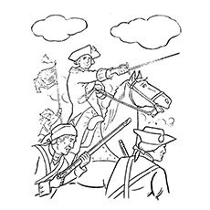 10 Best George Washington Coloring Pages For Toddlers Coloring Page Of George Washington