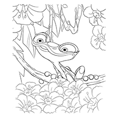 rio coloring pages gabi