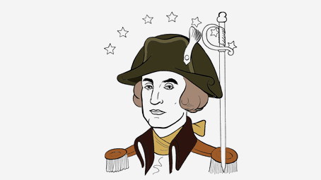 Abraham Lincoln Coloring Pages For Kindergarten : Best george washington coloring pages for toddlers