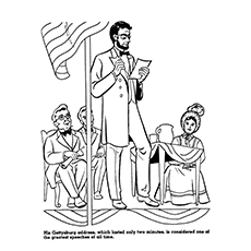 top 10 abraham lincoln coloring pages for your toddler