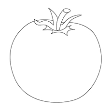 Top 10 tomato coloring pages your toddler will love to color tomato coloring page globe tomato ccuart Image collections