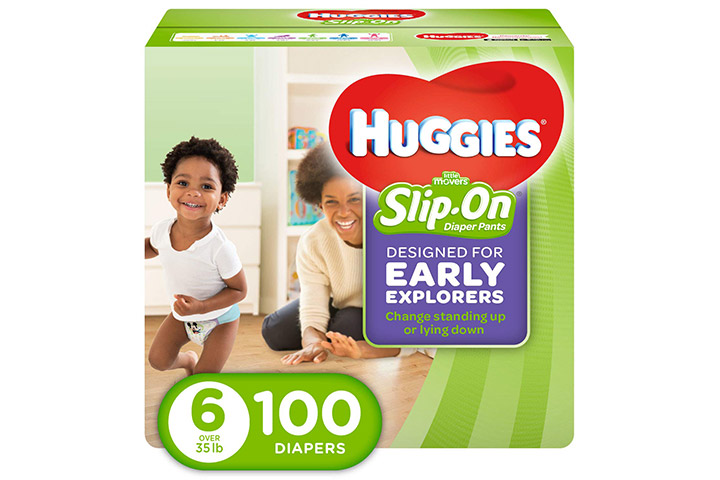 HUGGIES Little Movers Slip-On Diaper Pants
