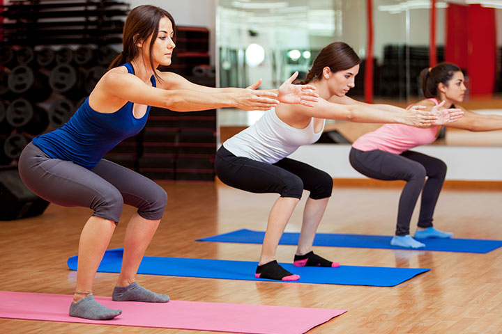 High-intensity aerobics