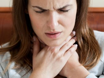 How To Deal With Sore Throat While Breastfeeding