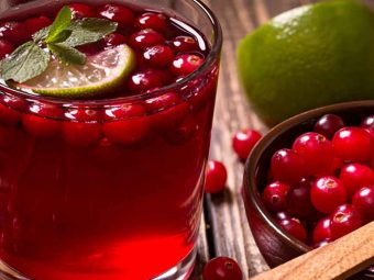 Is It Safe To Drink Cranberry Juice When Breastfeeding?