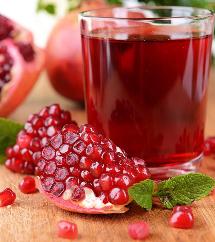 Pomegranate & Pomegranate Juice