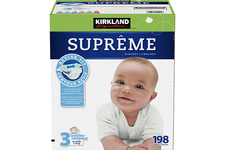 Kirkland Signature Supreme Baby Diapers