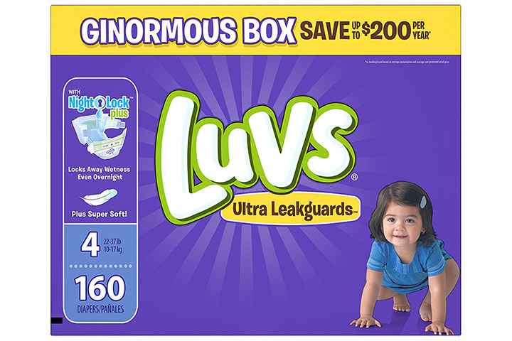 Luvs Ultra Leakguards Disposable