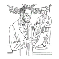 abraham lincoln coloring pages medal of honor
