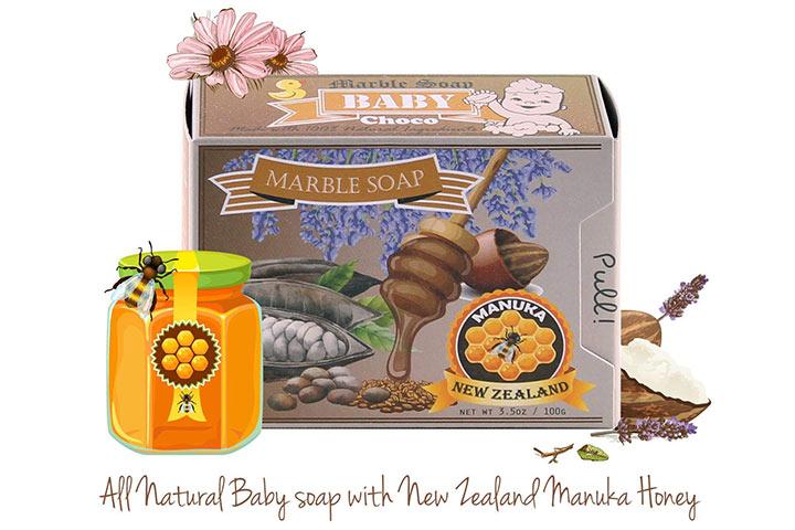 Memoir All Natural Baby Soap